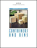 Containers and Bins, APA Form X235