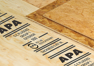APA trademarked panels for quality assurance