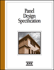 Panel Design Specifications, Form D510