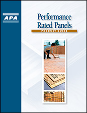 Product Guide: Performance Rated Panels