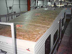 OSB RV trailer roof